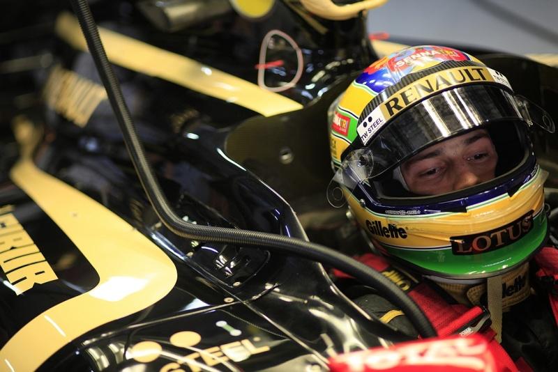 Bruno Senna larga em 14º na Índia
