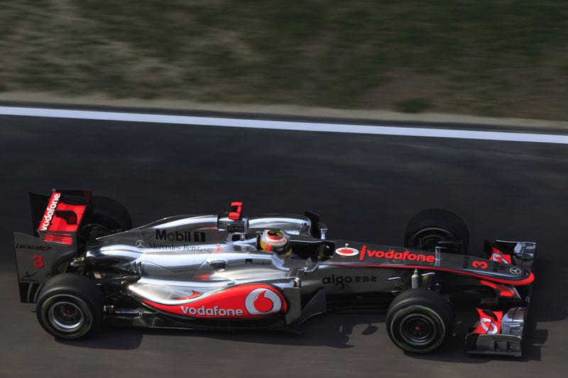 Hamilton foi o sétimo na Índia