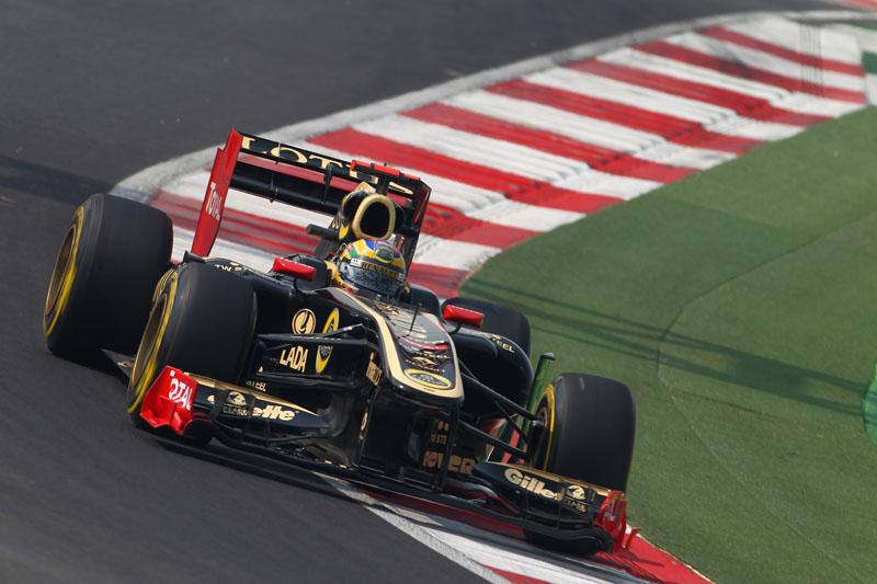Senna foi o 12º na Índia