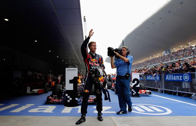 Vettel comemora o primeiro grand chelem da carreira