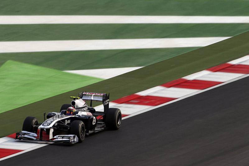 Maldonado vai a Abu Dhabi com a corrida comprometida