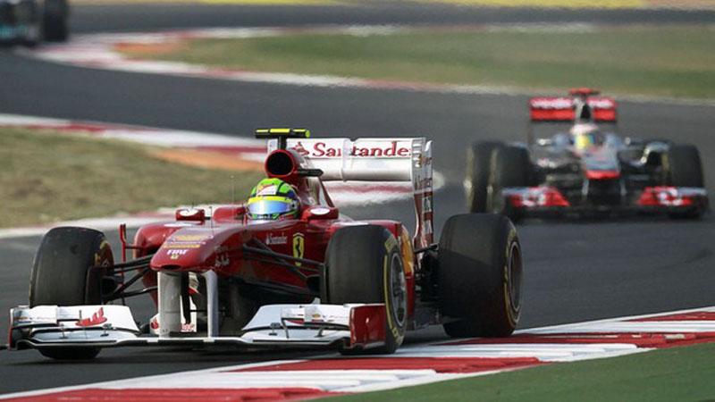 Massa e Hamilton na Índia