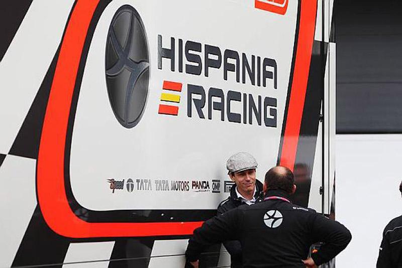 A Hispania está na frente da Virgin no mundial
