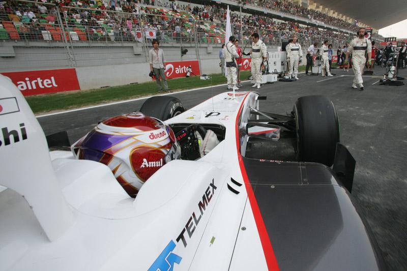 Nas últimas etapas, a Sauber perdeu fôlego para rivais