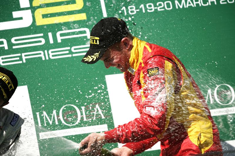 Dani Clos venceu uma prova na temporada 2011 da GP2