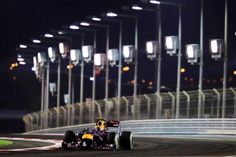 Webber em Abu Dhabi