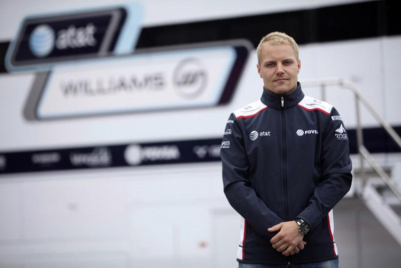 O finlandês Valtteri Bottas é atualmente piloto reserva da Williams