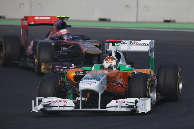 Force India tem 10 pontos de vantagem para a Toro Rosso