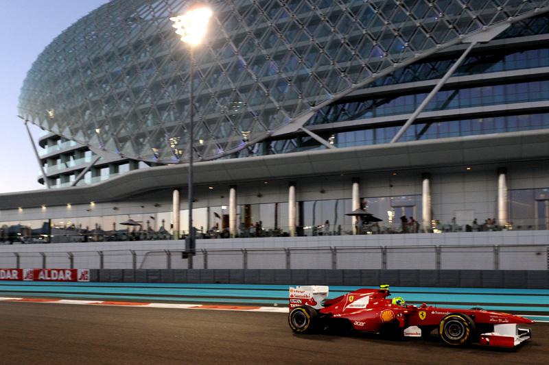Felipe Massa em Abu Dhabi