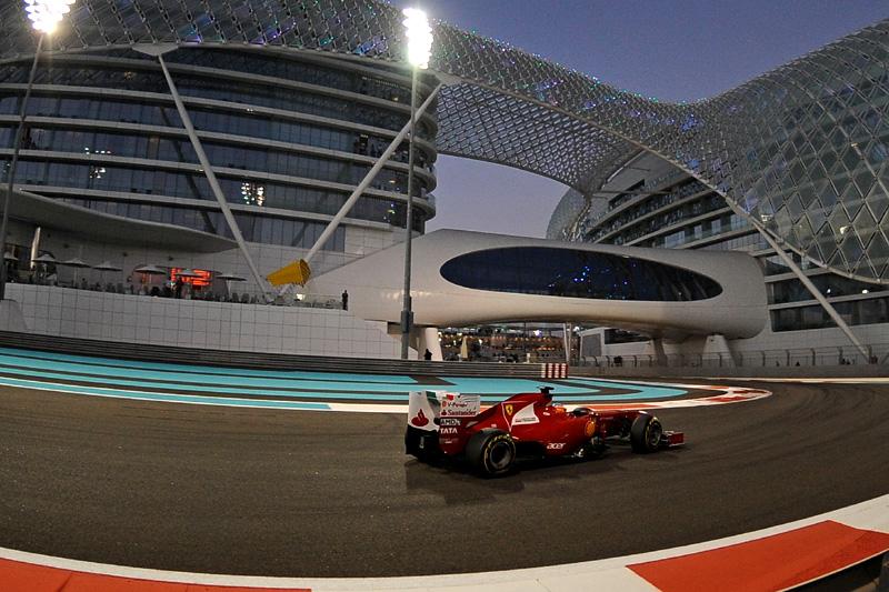 Alonso em Abu Dhabi