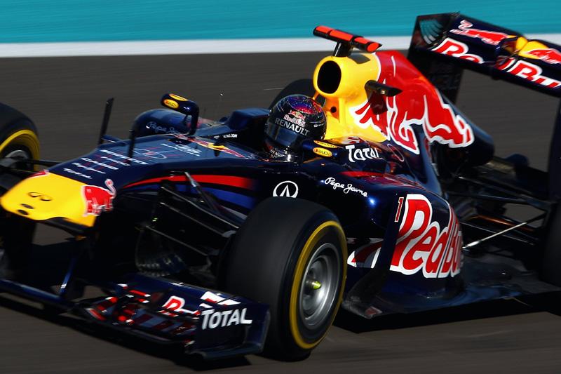 Sebastian Vettel em Abu Dhabi
