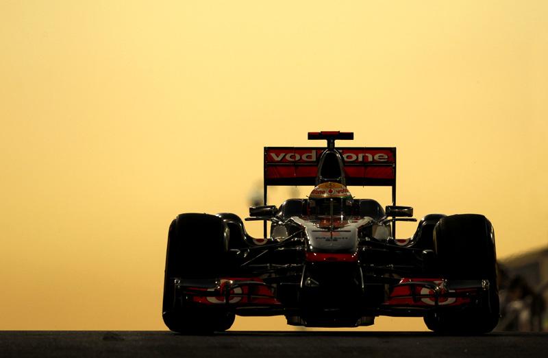 Lewis Hamilton em Abu Dhabi