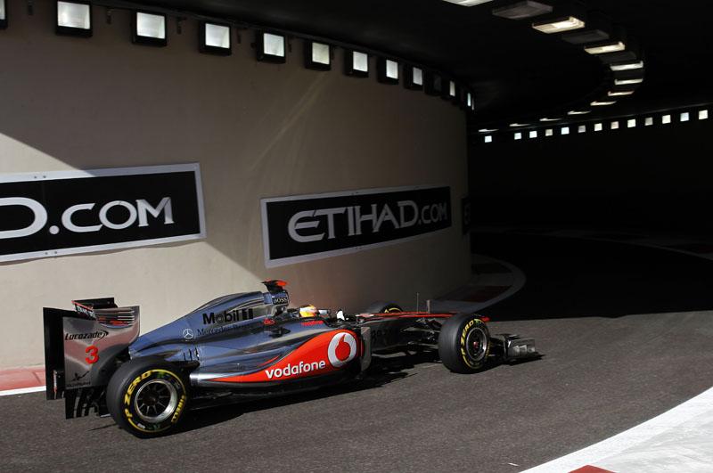 Hamilton liderou a terceira sessão