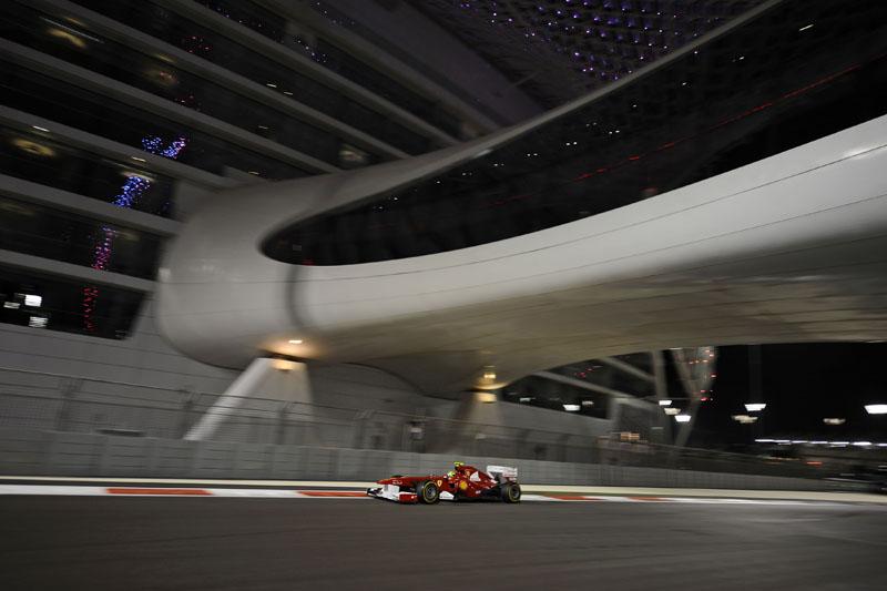 Para Massa, a terceira fila é o lugar da Ferrari