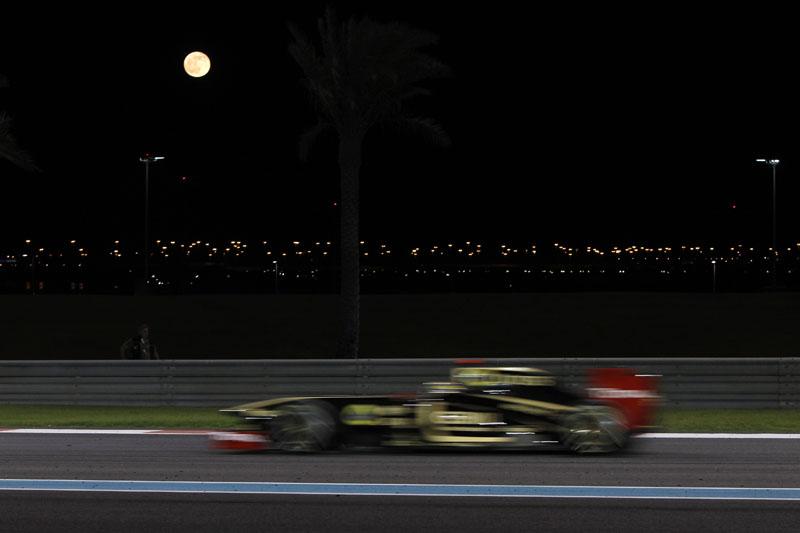 Senna se anima com pneus pouco usados