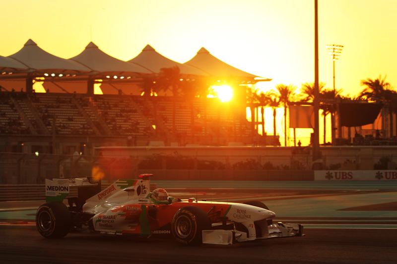 A Force India mira os pontos amanhã