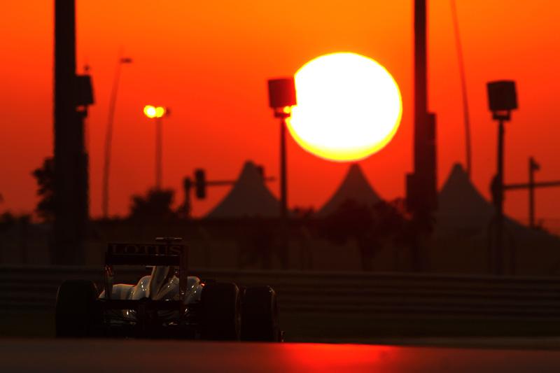 Bruno Senna em Abu Dhabi
