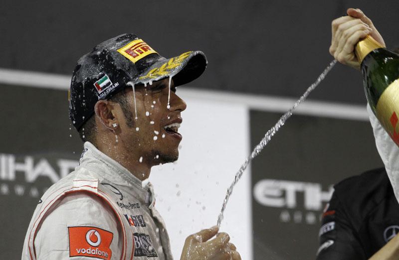 Hamilton subiu ao pódio apenas pela terceira vez em 12 provas
