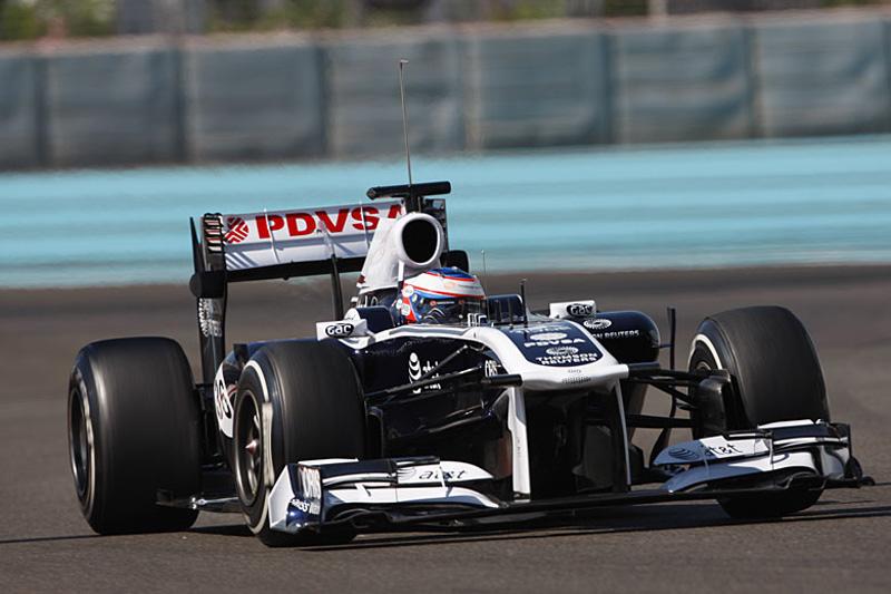 Bottas testa com a Williams