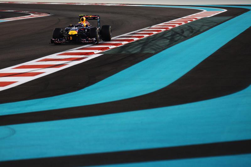 Webber sofreu com a zona de ultrapassagem dupla em Abu Dhabi