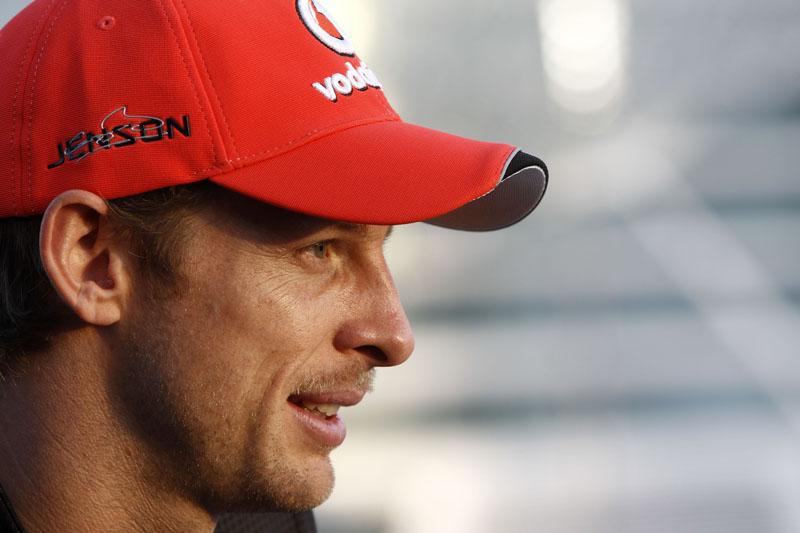 Button comemorou o título de 2009 em Interlagos