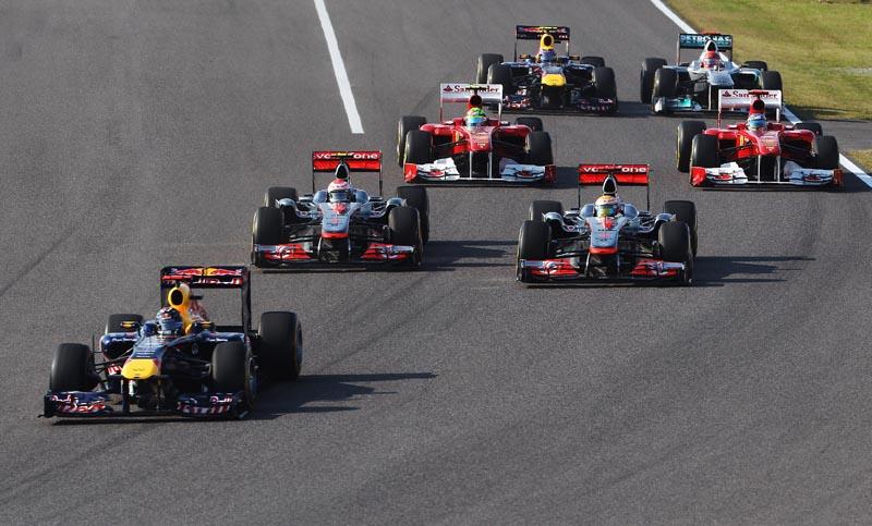 Um grid só com Ferrari, McLaren, Red Bull e Mercedes?