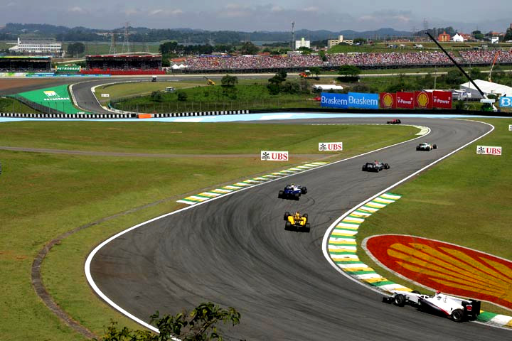 Ação na corrida de 2010