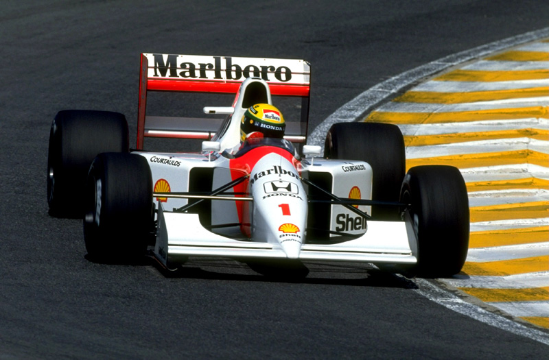 Último McLaren-Honda, datado de 1992
