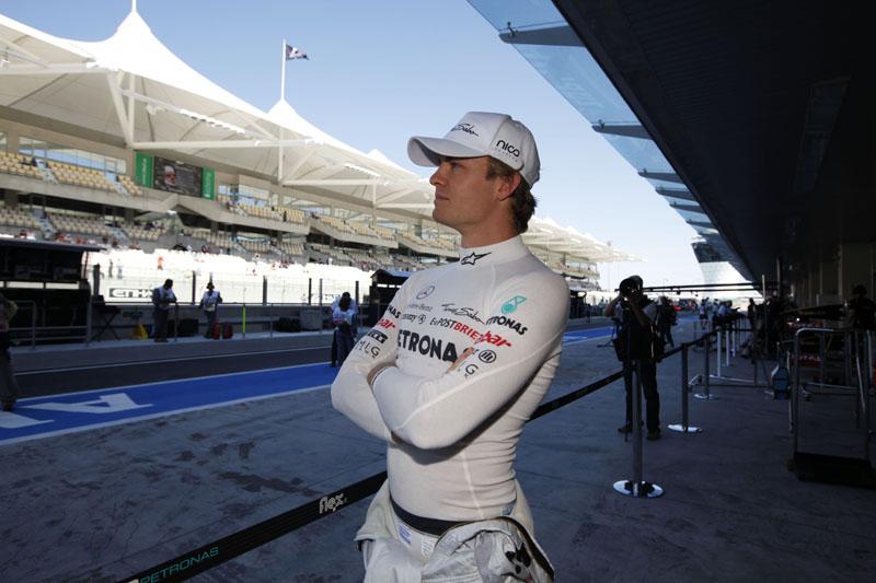 Rosberg tem 107 largadas na F-1