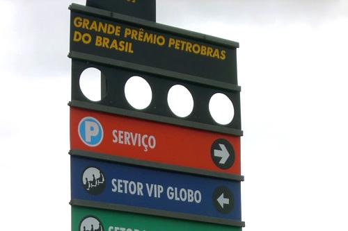 Tenha um bom GP do Brasil!