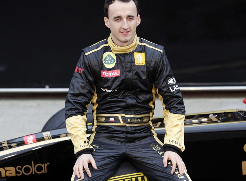 Kubica não disputou a temporada 2011