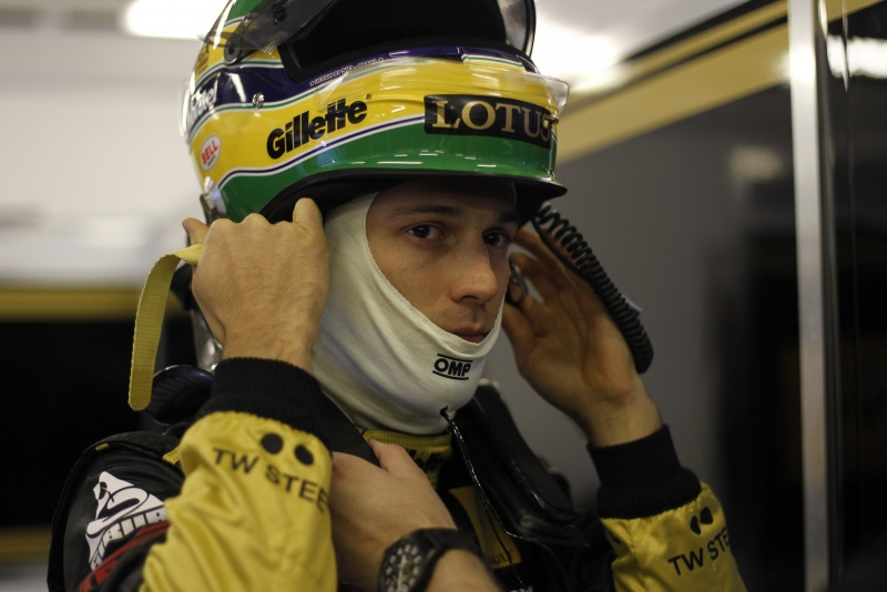 Bruno Senna tem trabalhado nesta semana para fechar o apoio de empresas para a equipe Renault