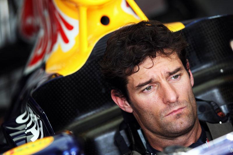 Webber liderou a primeira sessão de treinos