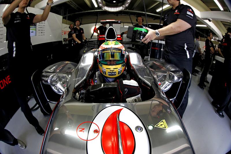 Lewis Hamilton em Interlagos