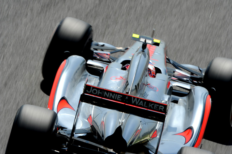 Jenson Button em Interlagos (Foto: Miguel Costa Jr.)