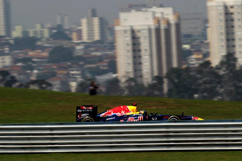 Vettel foi o mais rápido no último treino antes da classificação