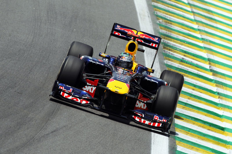 Vettel marcou a pole para o GP Brasil