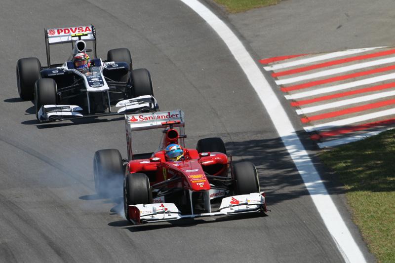 Alonso frita tudo em Interlagos
