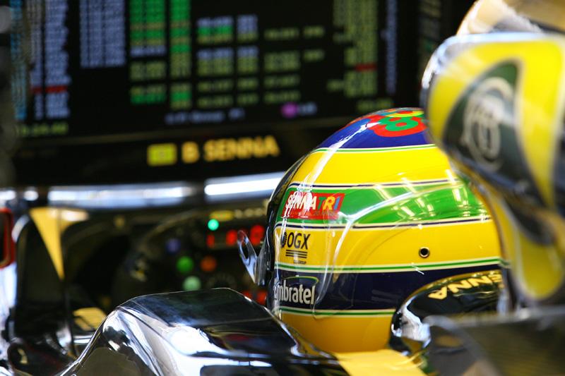 Bruno Senna em Interlagos