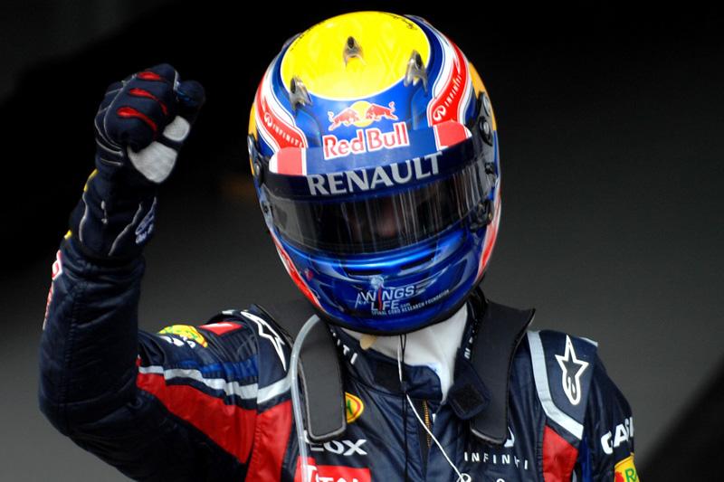 Webber celebra vitória (Miguel Costa Jr.)