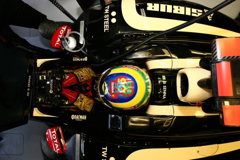Vettel teve problemas de câmbio Foto: Beto Issa
