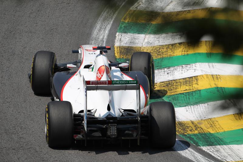 Perez terminou GP do Brasil em 13º