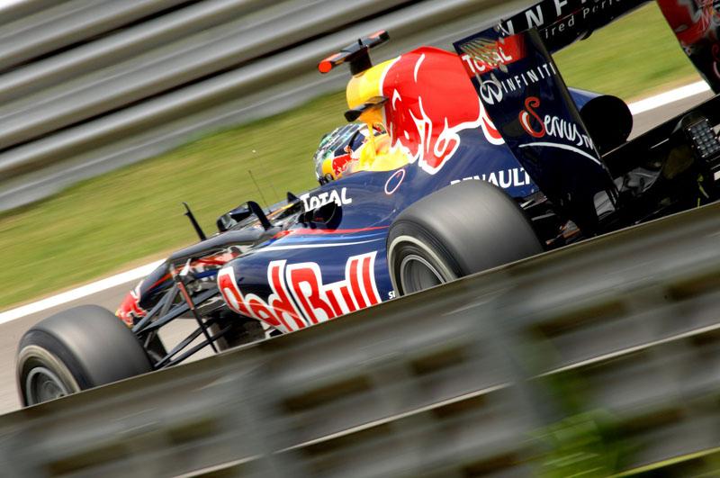 Vettel sofreu com o câmbio em Interlagos Foto: Miguel Costa Junior