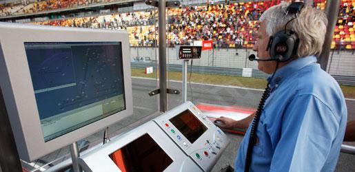 Charlie Whiting é o delegado de segurança da FIA