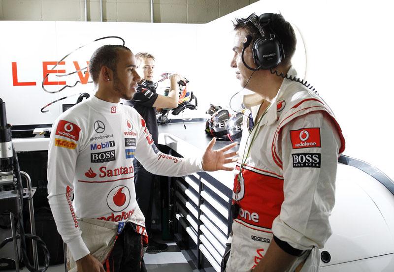 Hamilton está na McLaren desde a estreia na F-1, em 2007