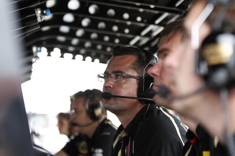 Boullier durante GP do Brasil