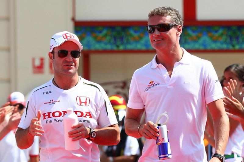 Rubens Barrichello e David Coulthard