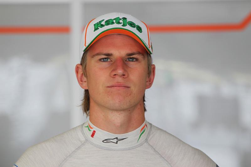 Hulkenberg passou o ano como piloto de testes da Force India