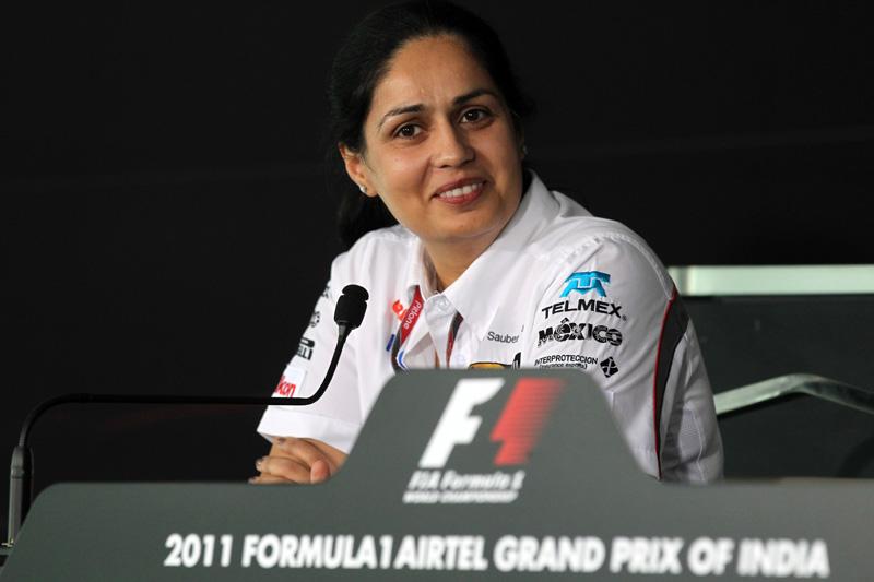 A CEO da Sauber, Monisha Kaltenborn