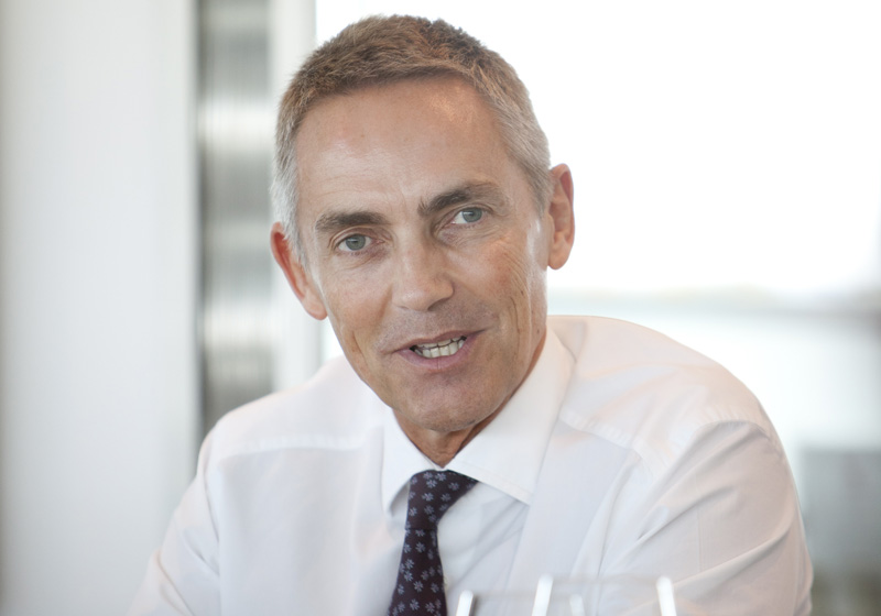 O chefe da McLaren, Martin Whitmarsh
